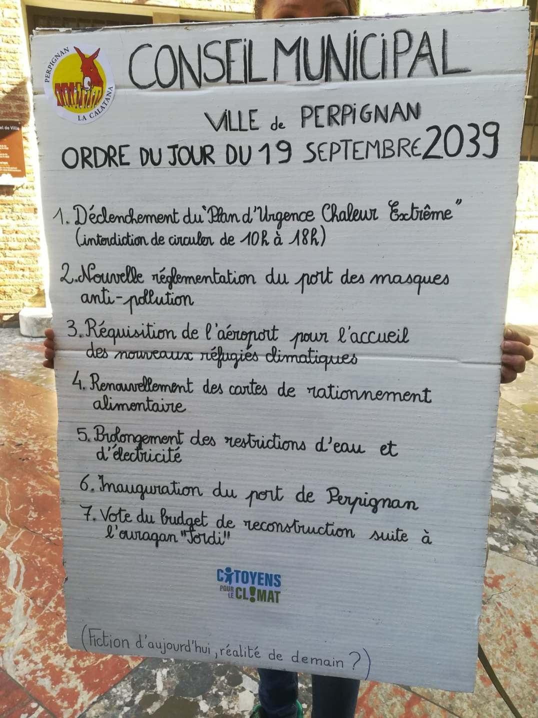 Photo Facebook Citoyens climat 66 (DR)