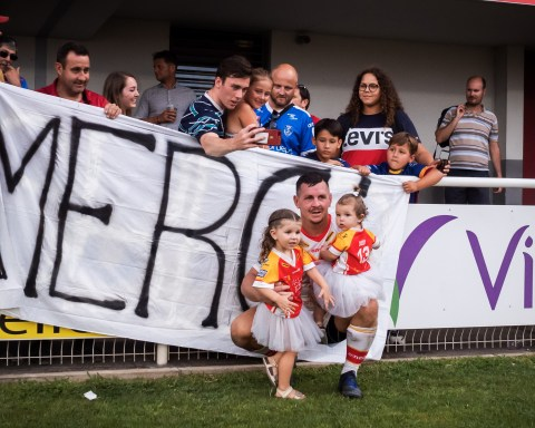 Dragons Catalans vs Hull KR Super League Gilbert Brutus août 2019 Greg Bird