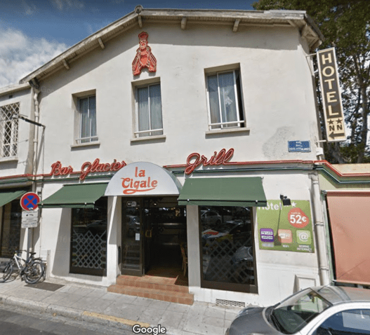 Hotel La Cigale - Image Google