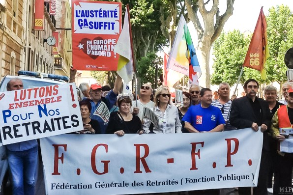 Manifestation retraites 2014