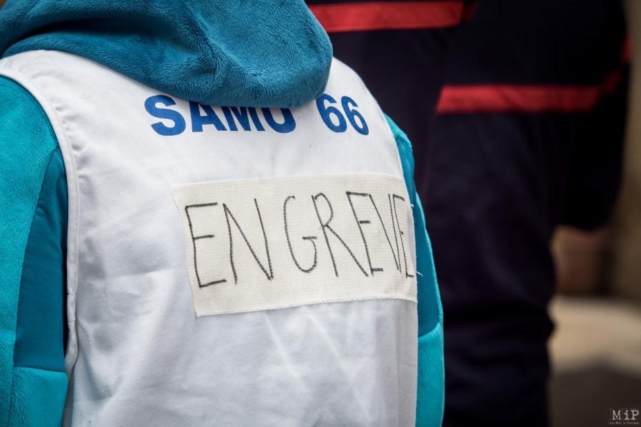 Urgences Samu Grève manifestation préfecture septembre 2019