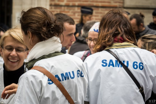 Urgences Samu Greve manifestation préfecture septembre 2019