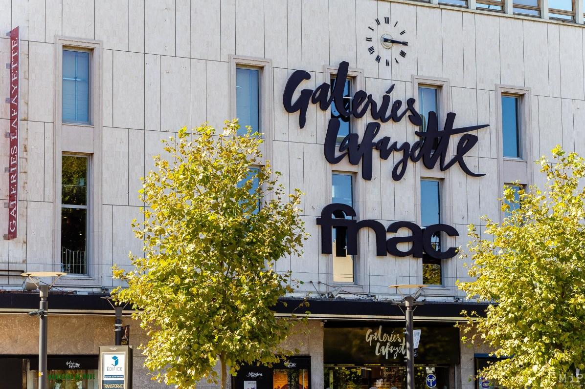Fnac ouverture aux Galeries Lafayette Perpignan