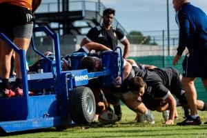 USAP Saison 2019-20 ProD2 Entraînement Sport Rugby XV Parc des sports Perpignan Octobre 2019 Aurillac
