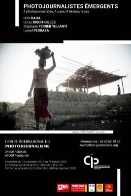 """Affiche CIP """"Photojournalistes émergeants"""""""