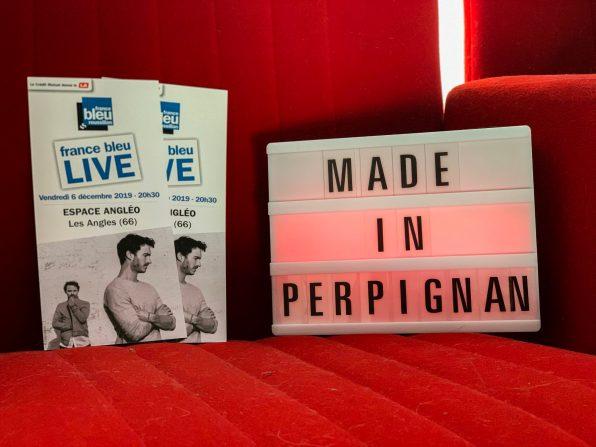 Concours France Bleu Roussillon Made In Perpignan Christophe Maé Boulevard des Airs Les Angles