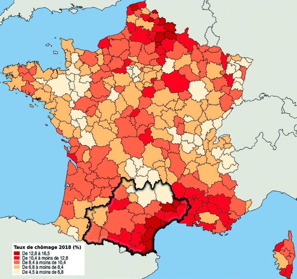 Insee Analyses taux de chômage 2018