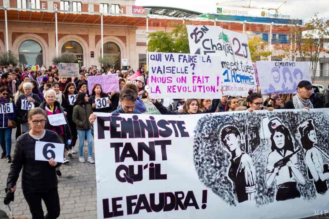 Marche NousToutes violences conjugales féminicide