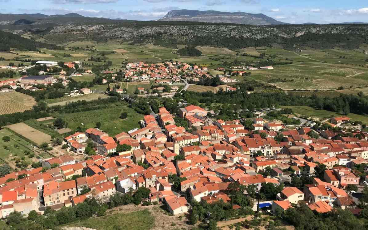 Tautavel chateau panoramas et points de vue des Pyrénées-Orientales