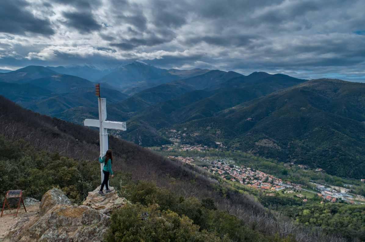 amelie-les-bains panoramas et points de vue des Pyrénées-Orientales