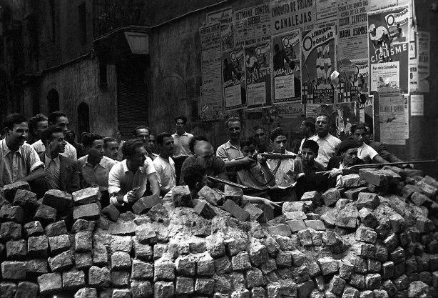 Wikipédia La guerre d'Espagne Hélène Legrais le Front dans l'azur
