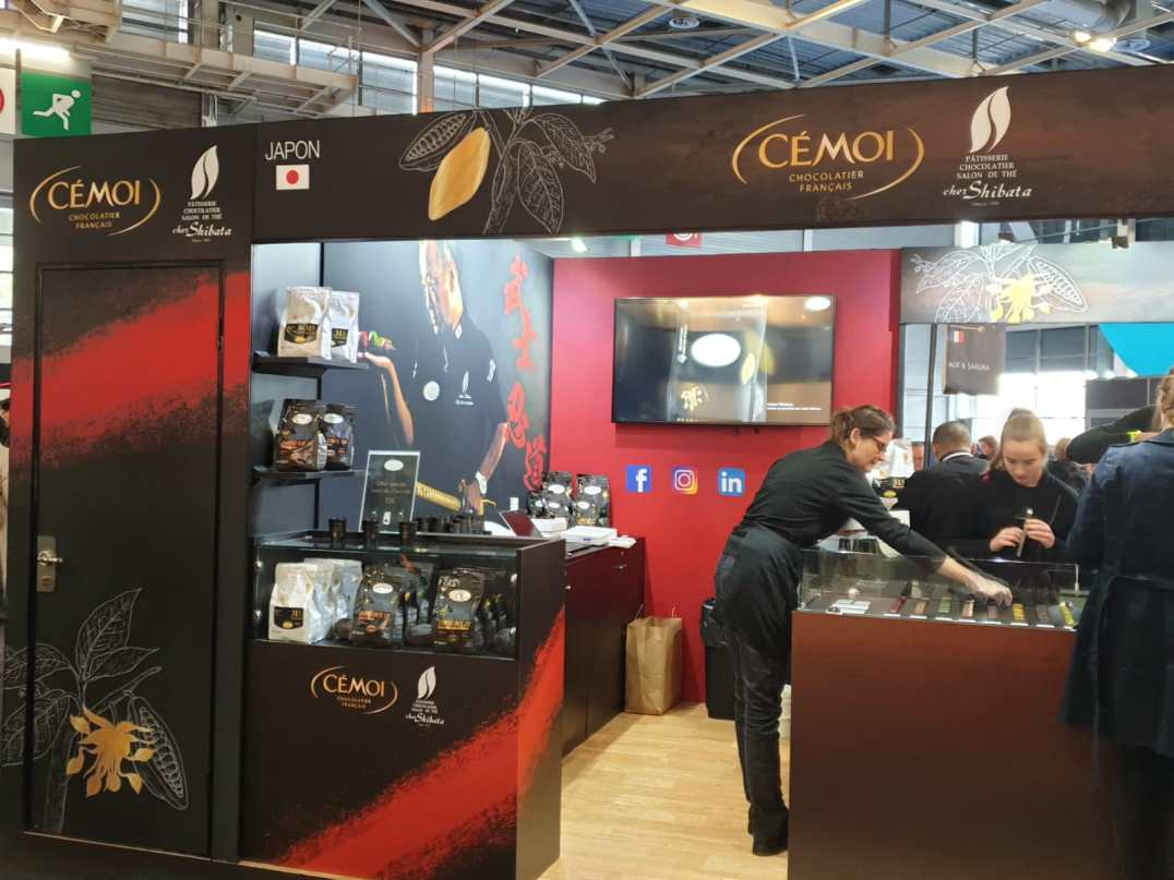 Cémoi salon du chocolat Paris