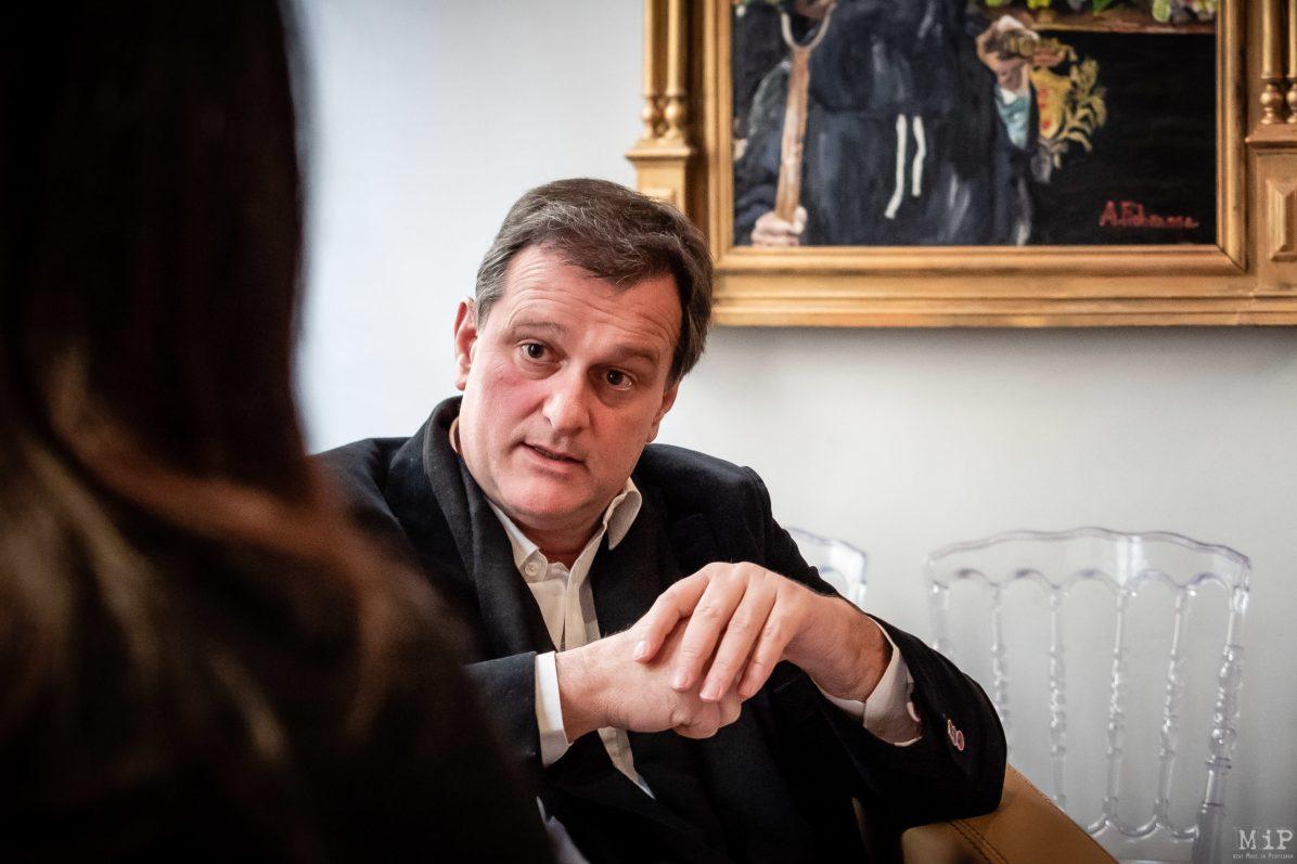 Louis Aliot interview 2020 campagne municipales Perpignan