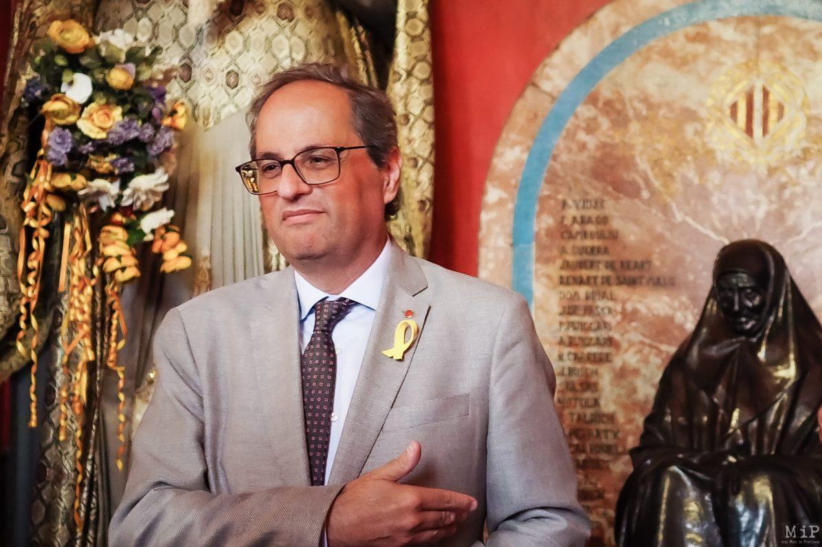 Qim Torra président de la Generalitat crise catalane destitué de son mandat de député