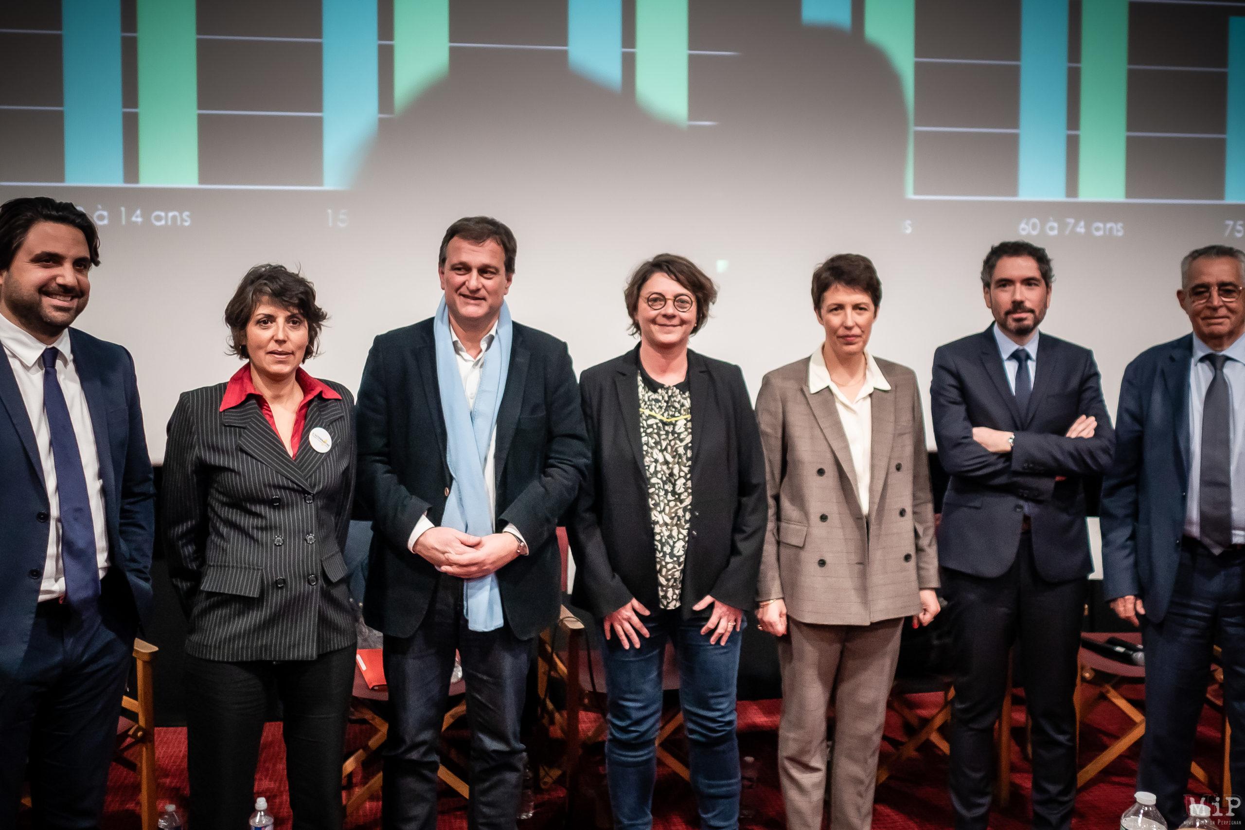 municipales 2020 Débat Castillet Agissons candidats premier tour