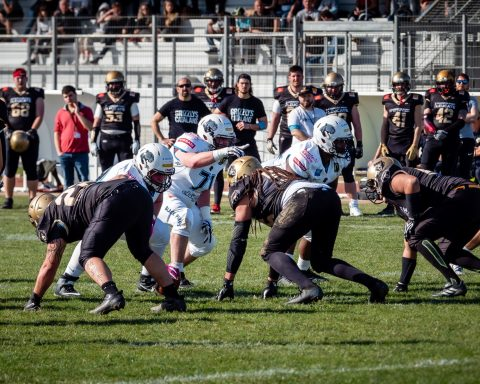 Grizzlys Catalans Black Panthers Elite 2020 football américain