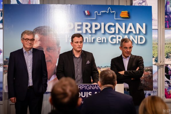 Jean-Paul Garraud - Louis Aliot - Thierry Mariani
