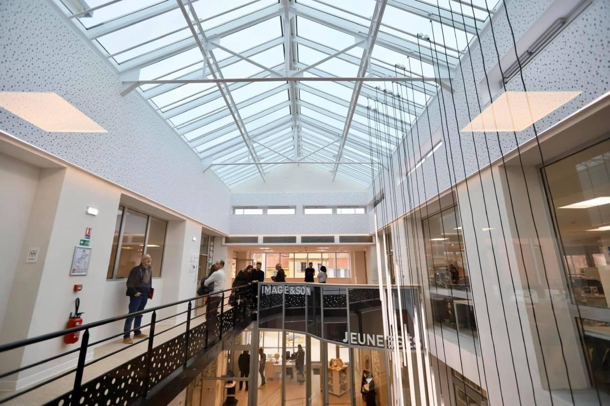 Médiathèque Perpignan © DR Mairie de Perpignan