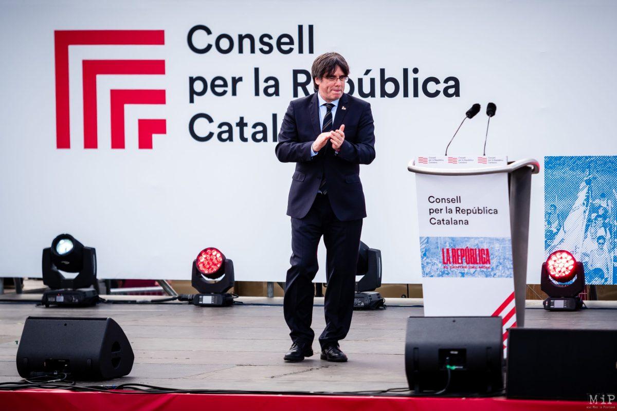 Archives Carles Puigdemont meeting Perpignan 29/02/2020