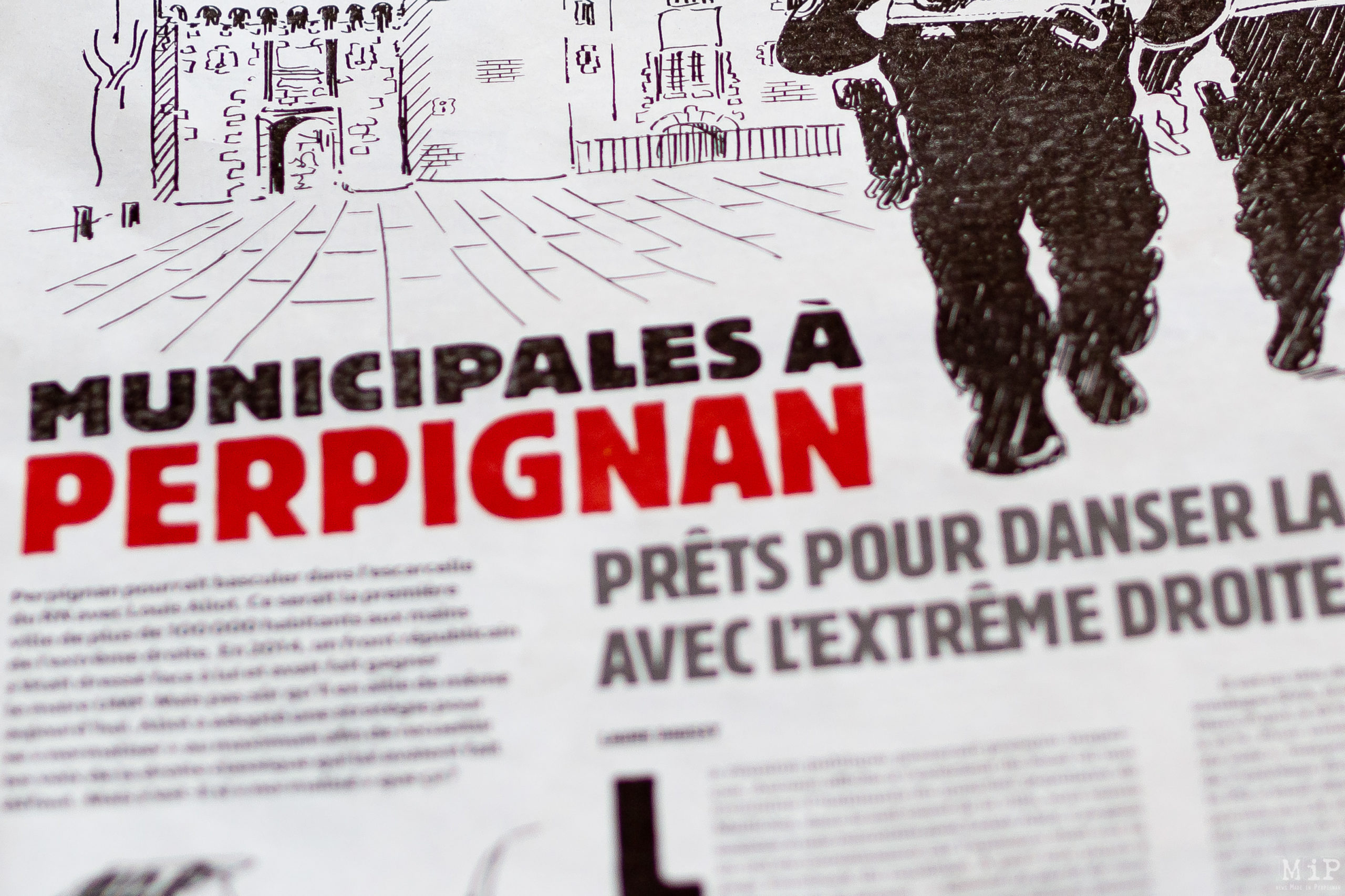 Charlie Hebdo 11 Mars 2020 - Municipales à Perpignan