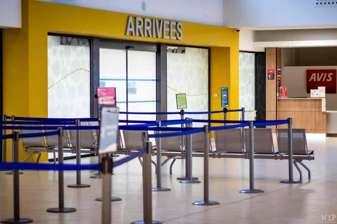 ILLUSTRATION Perpignan, France Aéroport Rivesaltes © Arnaud Le Vu / MiP / APM
