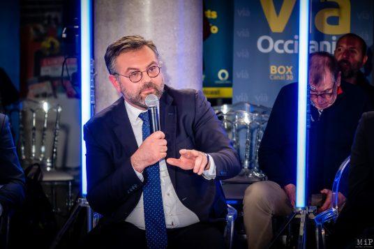 Romain Grau Municipales 2020 Perpignan débat L'Indépendant Via Occitanie