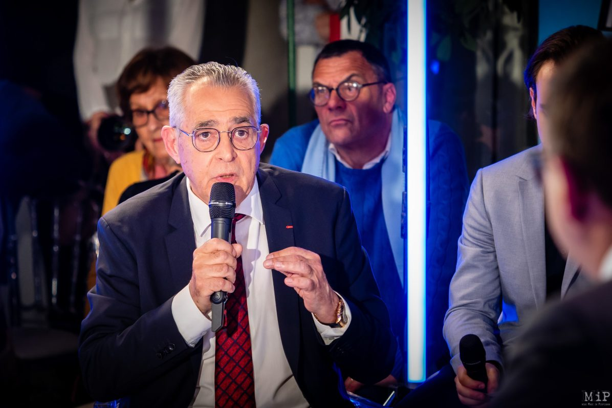 Jean-Marc Pujol Municipales 2020 Perpignan débat L'Indépendant Via Occitanie premier tour © Arnaud Le Vu / MiP / APM