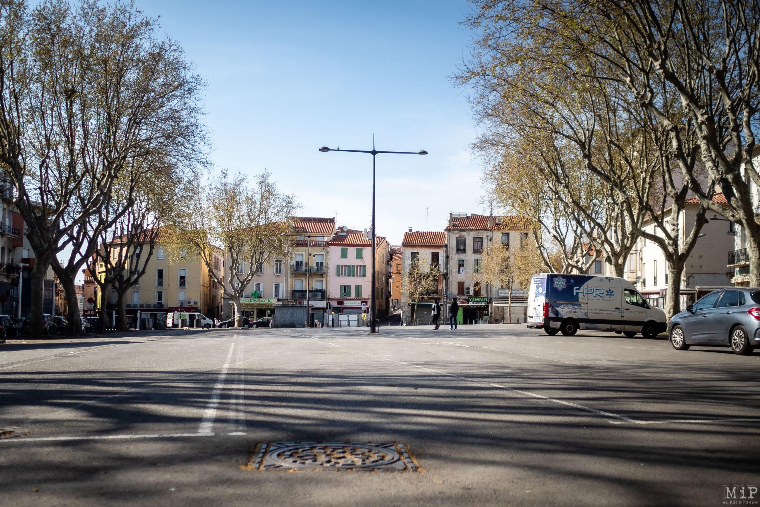 Perpignan France 20/03/2020 quartier gitan Saint-Jacques pandémie Coronavirus Covid-19 communauté gitane décès confinement © Arnaud Le Vu / MiP / APM