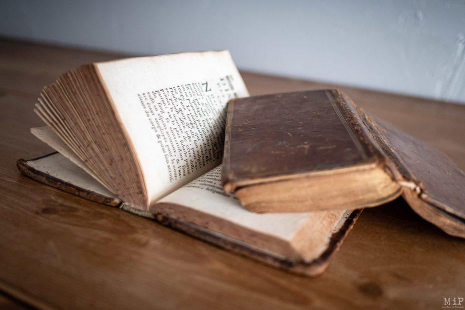 Illustration livres anciens © Arnaud Le Vu / MiP / APM