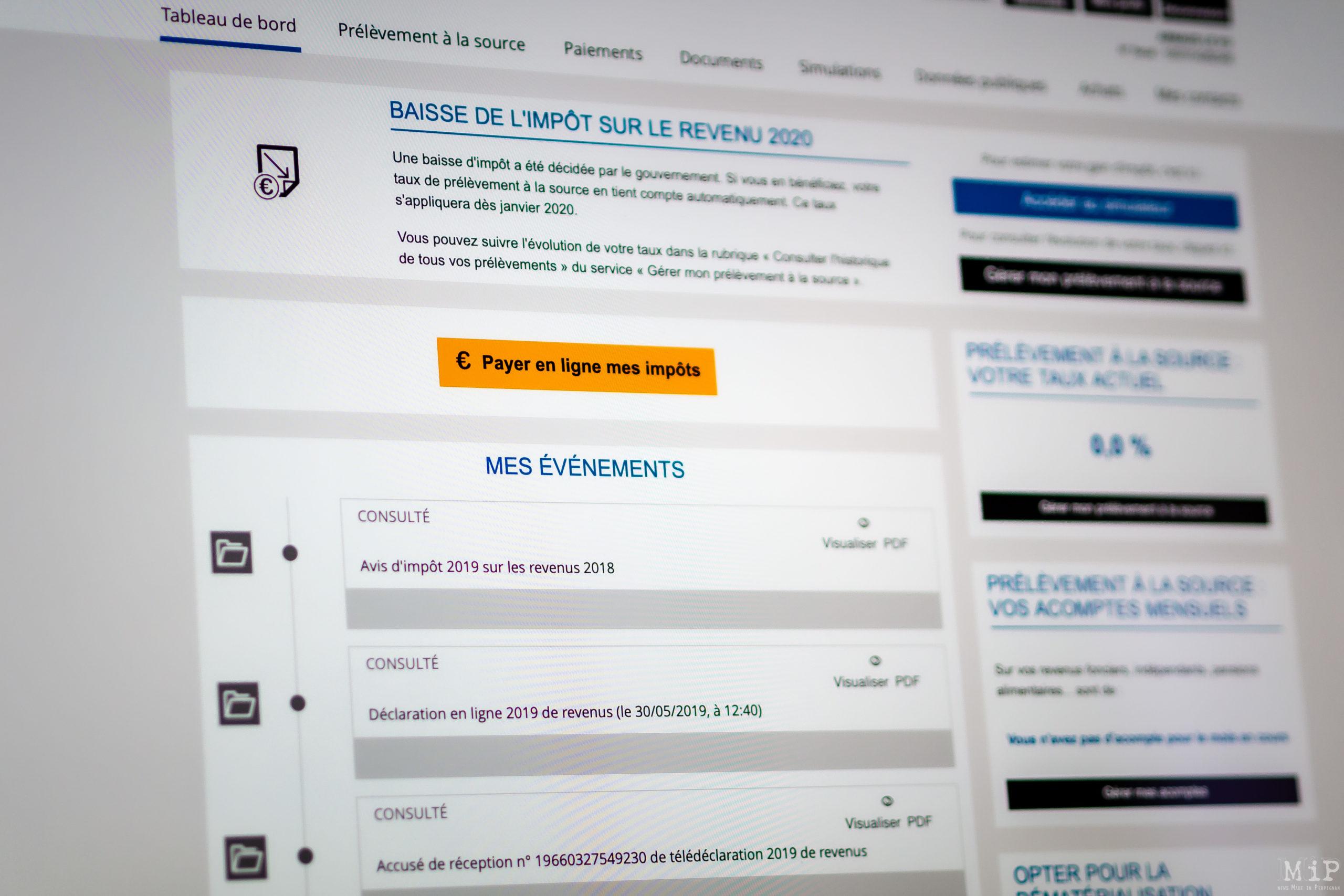 Campagne des impôts 2020 - Les aménagements spécifiques au Covid-19 pris dans les Pyrénées-Orientales © Arnaud Le Vu / MiP / APM