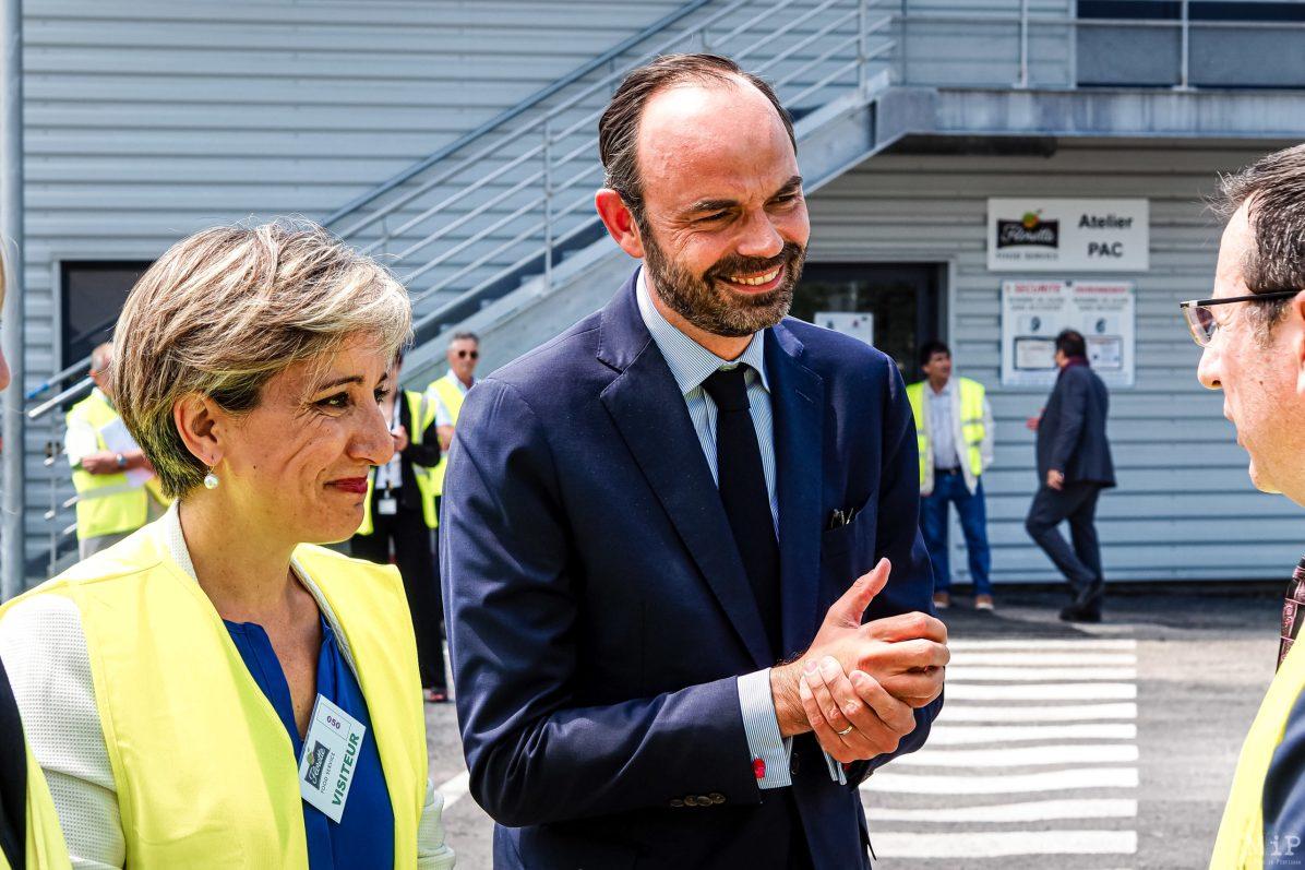 14/06/2017, Perpignan, France, Archives Edouard Philippe déplacement campagne Législatives © Arnaud Le Vu / MiP / APM