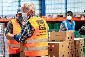 25/05/2020, Perpignan, France, Illustrations banques alimentaires secours populaire © Arnaud Le Vu / MiP / APM