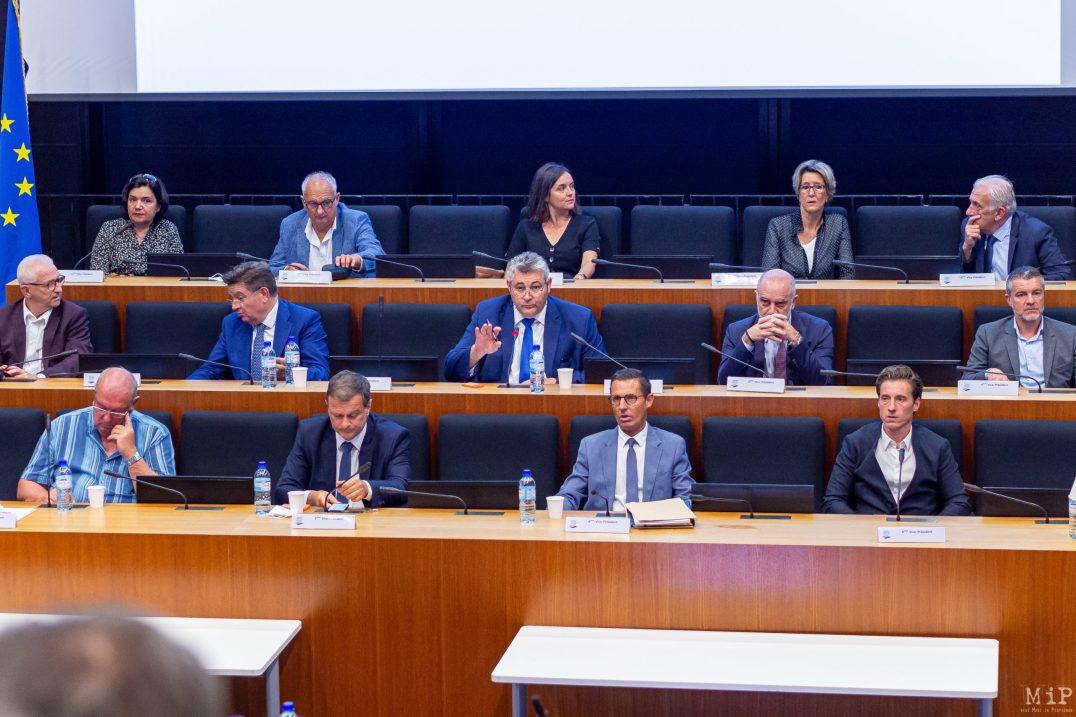Election du President de la Communauté Urbaine de Perpignan