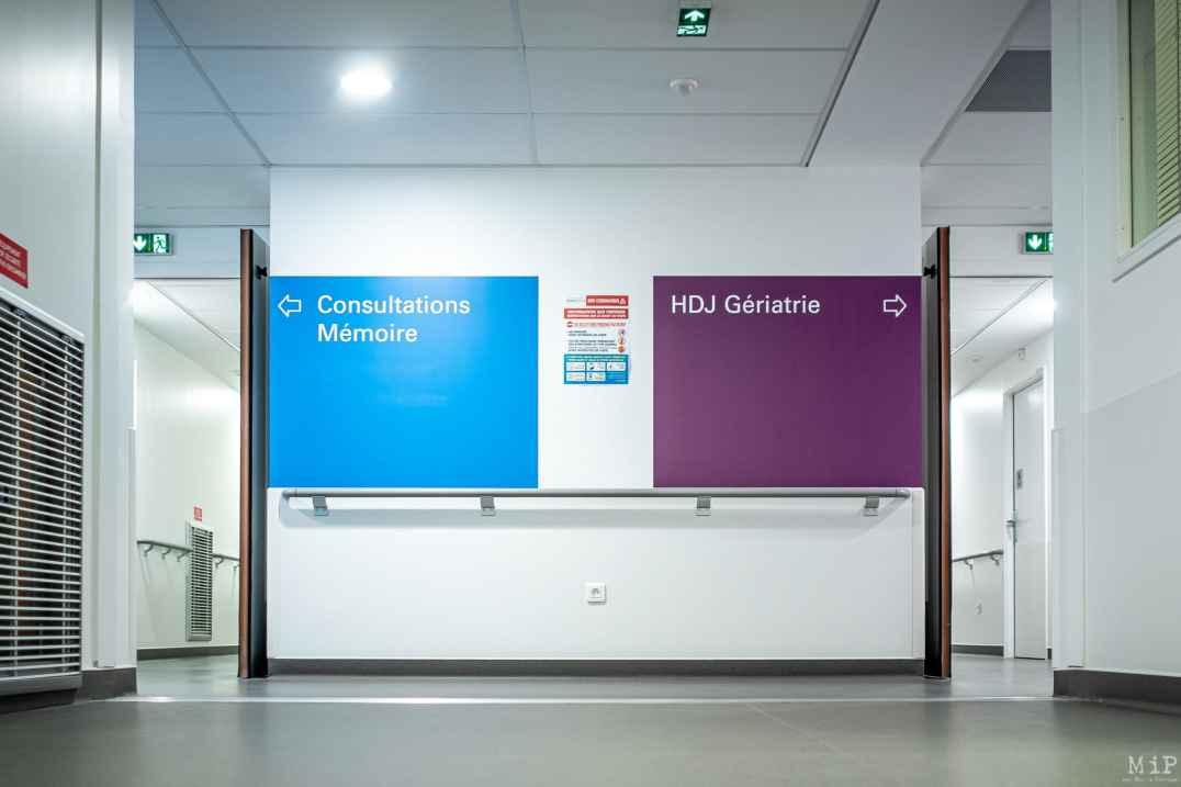 16/09/2020, Perpignan, France, Consultation mémoire alzheimer hôpital gériatrie © Arnaud Le Vu / MiP