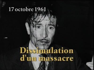 """Capture d'écran film """"Dissimulation d'un massacre"""" de Daniel Source : Site web Daniel Kupferstein."""