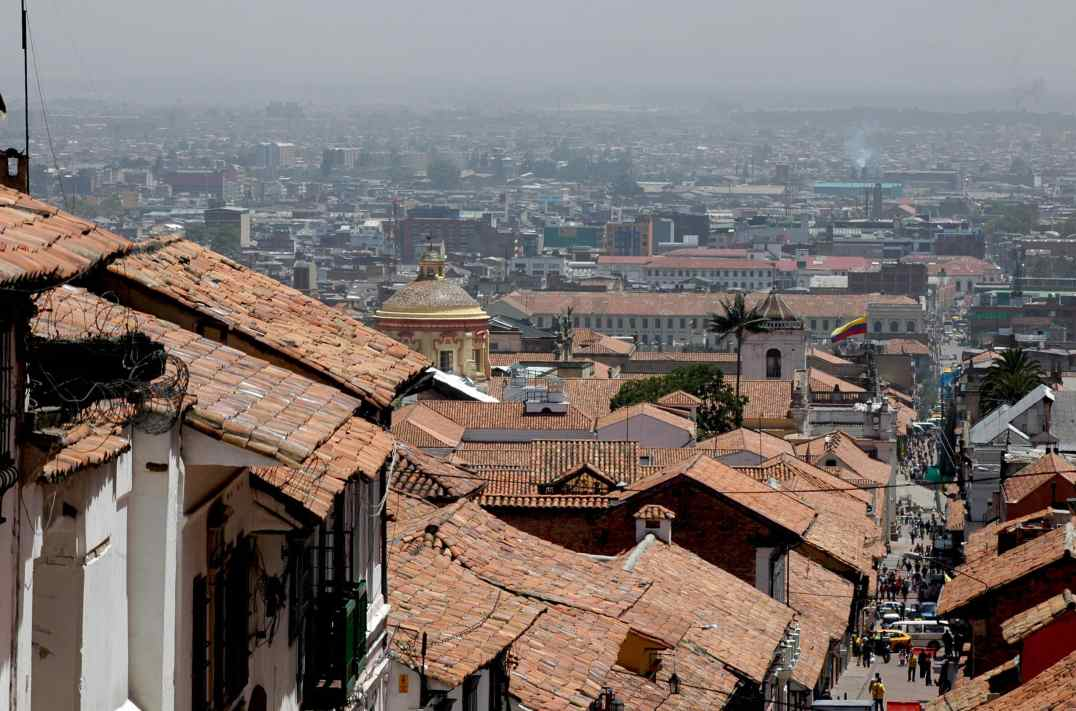 Le vieux Bogota © Thierry Pierrard / Wikipédia