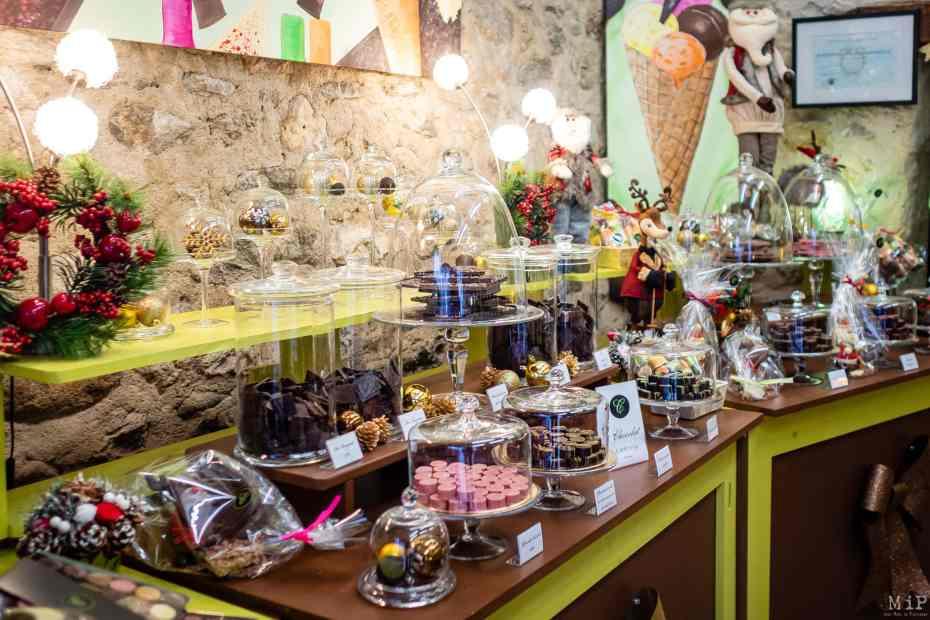 Villefranche de Conflent artisanat chocolat