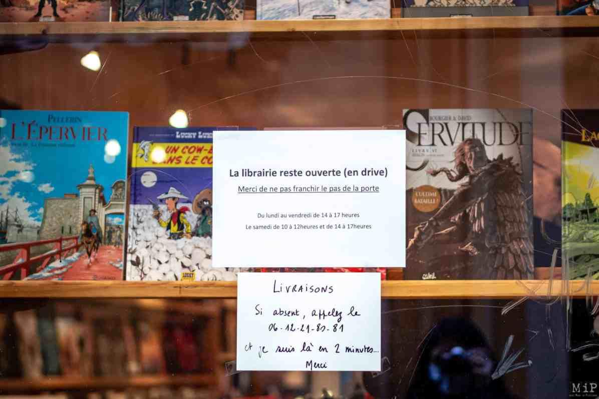 10/11/2020, Perpignan, France, Commerces Click and Collect © Arnaud Le Vu / MiP