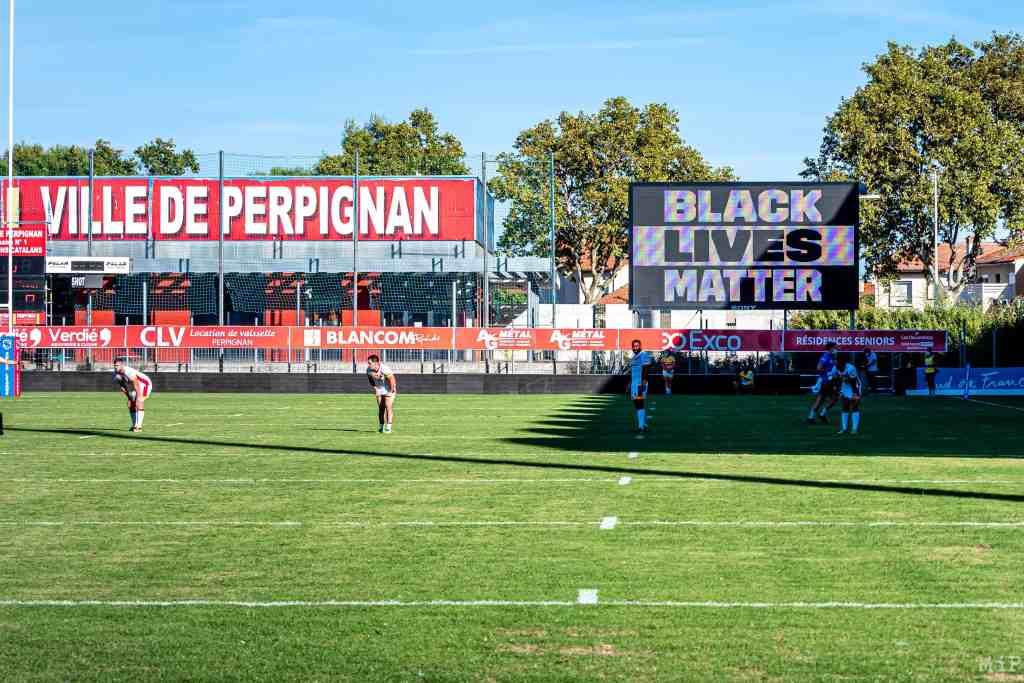 12/09/2020, Perpignan, France, Dragons Catalans Gilbert Brutus © Arnaud Le Vu / MiP