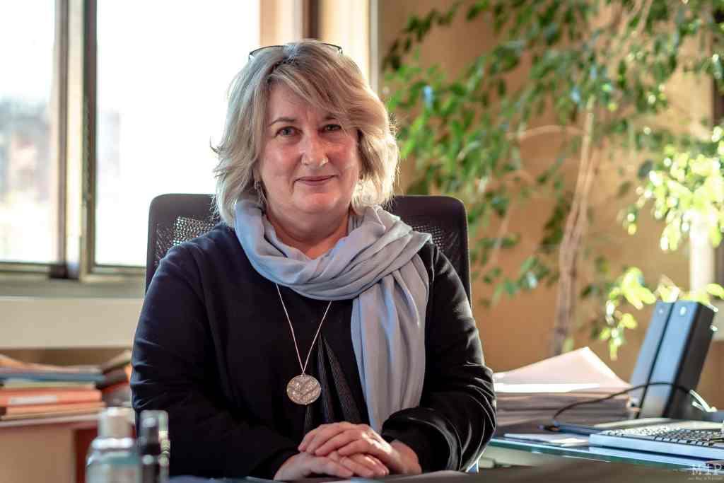 05/01/2021, Perpignan, France, Sylvie Guillouet directrice départementale des Finances publiques © Arnaud Le Vu / MiP