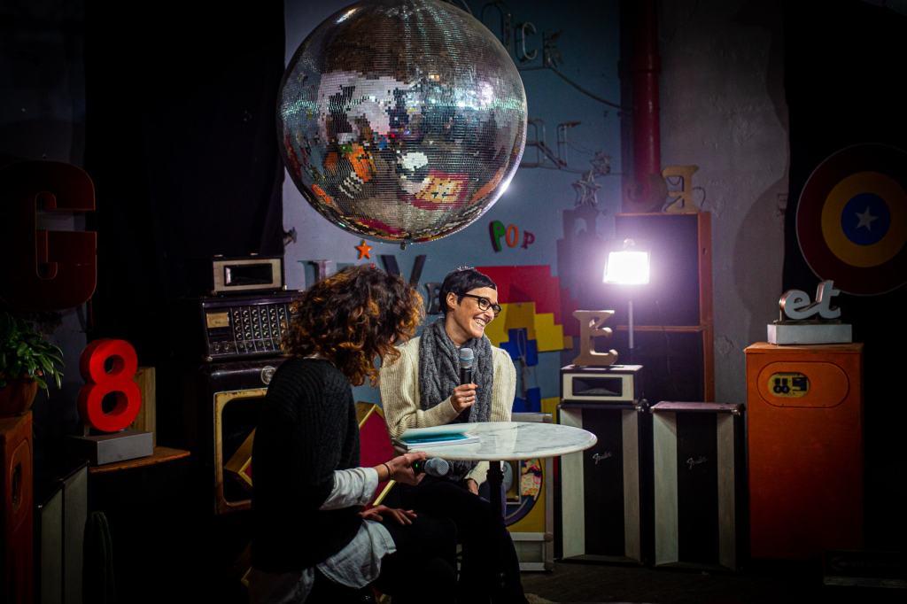 Yoanna Rubio en interview - Crédit photo Idhir Baha