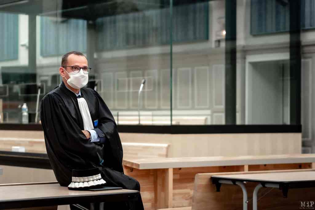 05/02/2021, Perpignan, France, Pierre Viard, président de Tribunal © Arnaud Le Vu / MiP