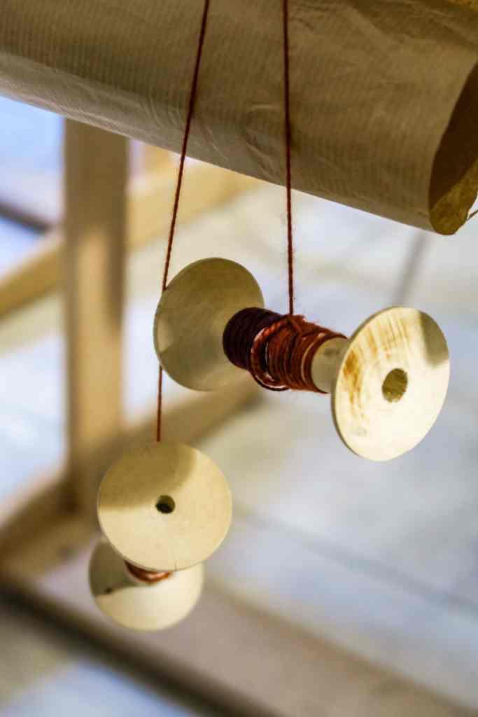 L'atelier de tissage d'Agnès Calas
