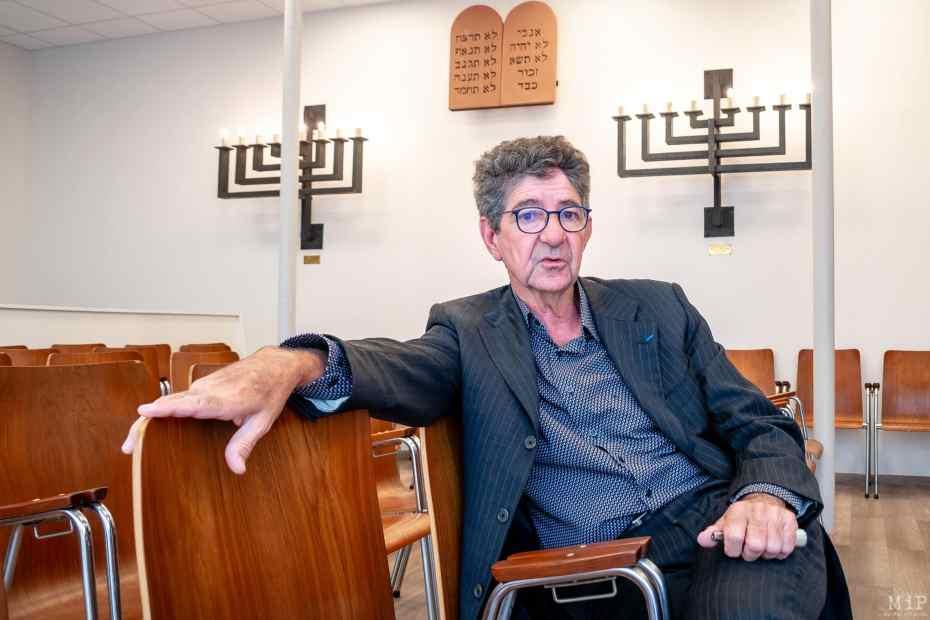 11/06/2018, Perpignan, France, Daniel Halimi à la synagogue de Perpignan © Arnaud Le Vu / MiP