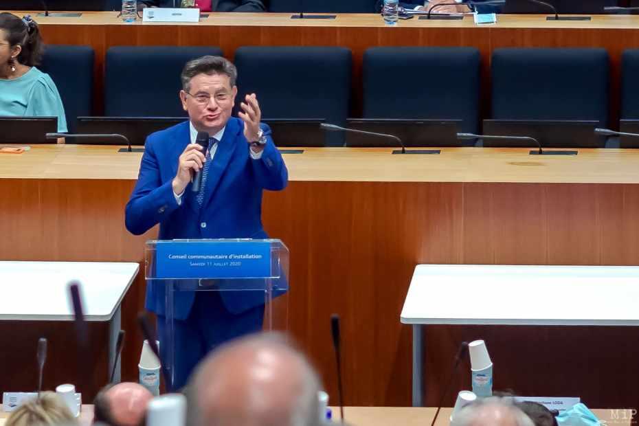 11/07/2020, Perpignan, France, Alain Ferrand, maire Le Barcarès,© Arnaud Le Vu / MiP