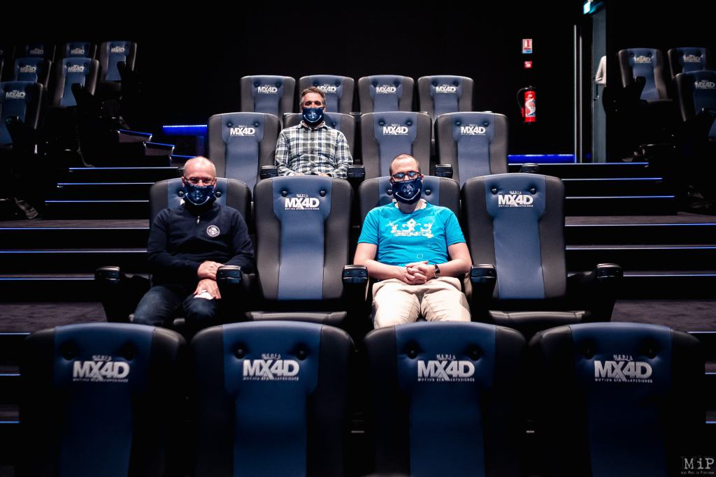 FRANCE - FIRST MX4D MOVIE THEATER IN FRANCE
