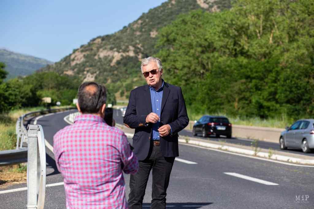 FRANCE - POLITICS - REGIONAL ELECTIONS - OCCITANIE - RASSEMBLEMENT NATIONAL - CAMPAIGN WITH JEAN-PAUL GARRAUD