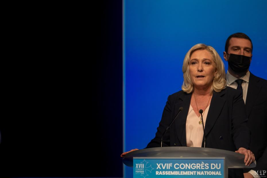 Congrés du RN - Perpignan © Arnaud Le Vu / MiP / HL