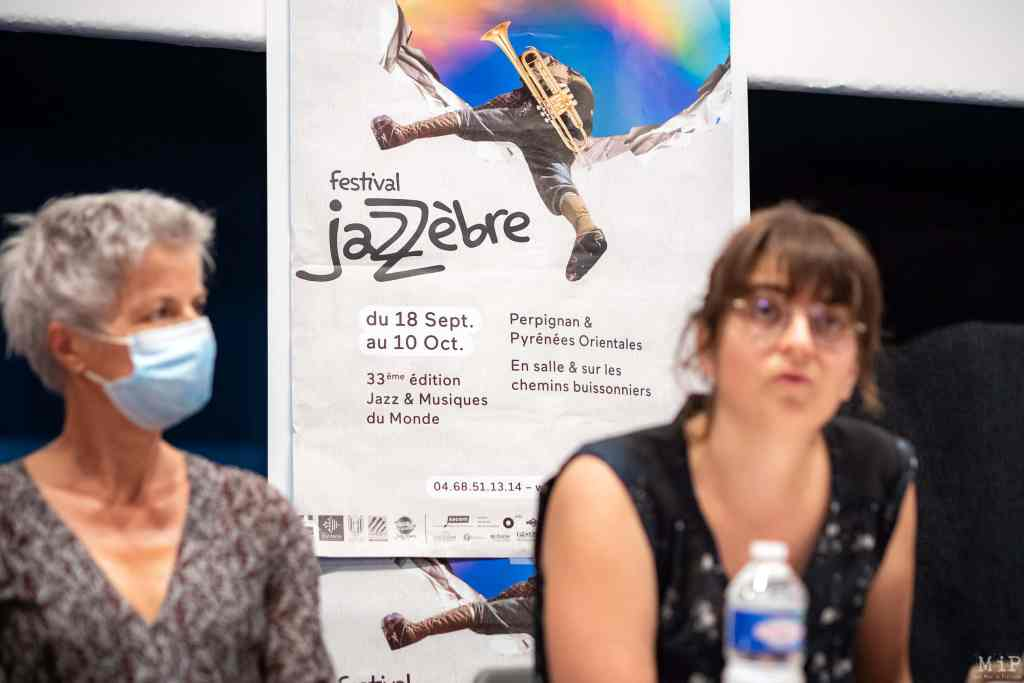 France, Perpignan, 2021-09-07. Illustration, The 33rd edition of Jazzebre will also be the last one for Yann Causse, the programmer and artistic director of the festival of Jazz. Photograph by Arnaud Le Vu / Hans Lucas.France, Perpignan, 2021-09-07. Illustration, La 33e edition de Jazzebre sera egalement la derniere de Yann Causse, le programmateur et directeur artistique du festival de Jazz. Photographie de Arnaud Le Vu / Hans Lucas.