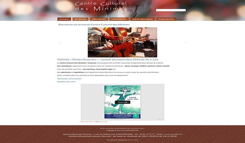 Centre Culturel des Minimes - Un site réalisé et hébergé par Made in Web